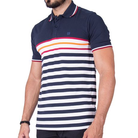 Camisa-Polo-Red-Band-Azul-Marinho