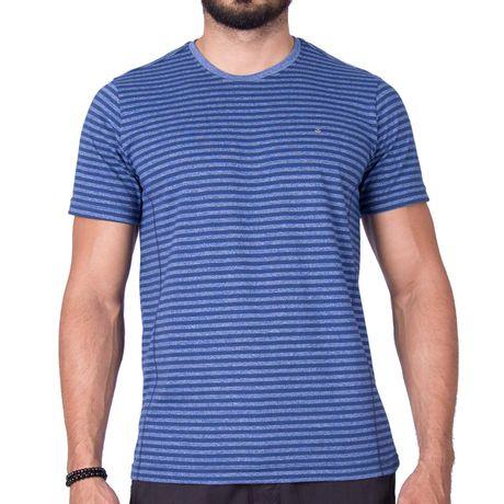 Camiseta Manga Curta Navy New Azul