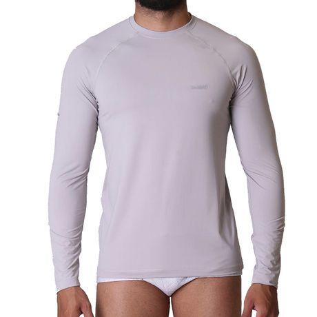 Camiseta Manga Longa Masculina Com Proteção UV 50+