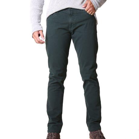 Calca-Masculina-Sarja-Color-Verde-
