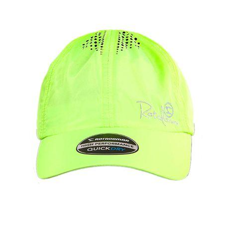 Bone-Esportivo-QuickDry-Rota-do-Mar-Neon-verde-frente
