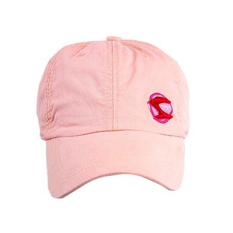 Bone-lavado-Rota-do-Mar-Logo-Bordado-3D-rosa-frente