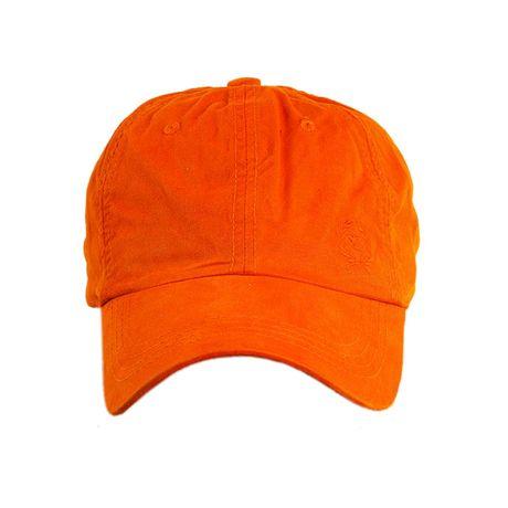 Bone-Lavado-Rota-do-Mar-Logo-Bordada-laranja-frente