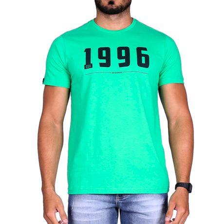 Camiseta-Manga-Curta-Adulto-1996-Verde