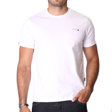 Camiseta-Manga-Curta-Adulto-Classic-Flowers-Branco