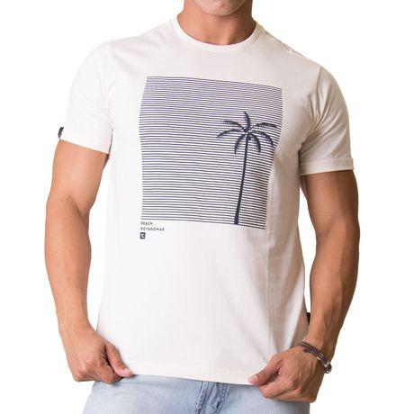 Camiseta-Manga-Curta-Adulto-Beach-Summer-Areia