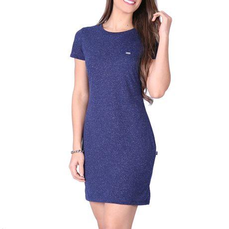 Vestido-Mescla-Azul