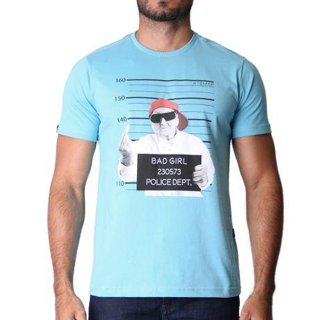 950774-Camiseta-Grandmother-Framed-Azul-frente