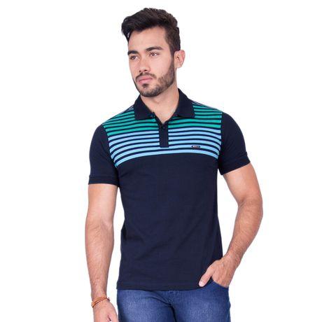 Camisa-Polo-Stripes-Azul-Marinho