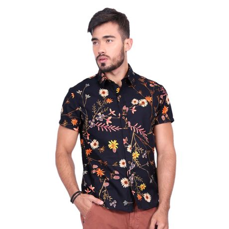 Camisa-Manga-Curta-Gerbera