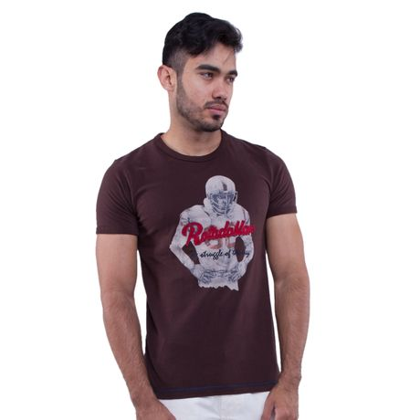 280603-camiseta-manga-curta-estampa-american-football-marrom-frente