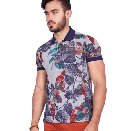 Camisa-Polo-Floresta-Tropical
