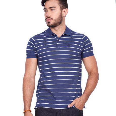 Camisa-Polo-Listrada