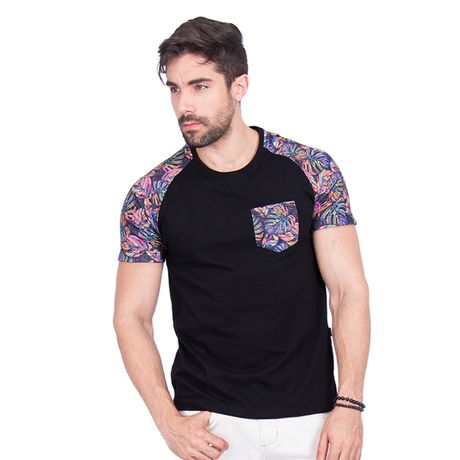 Camiseta-Masculina-Raglan-Feeling-Good