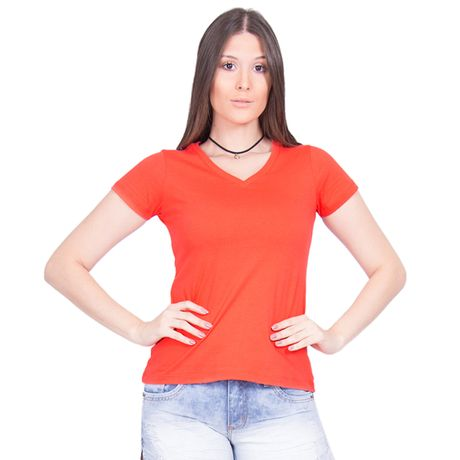 Camiseta-Feminina-Gola-V-Basic