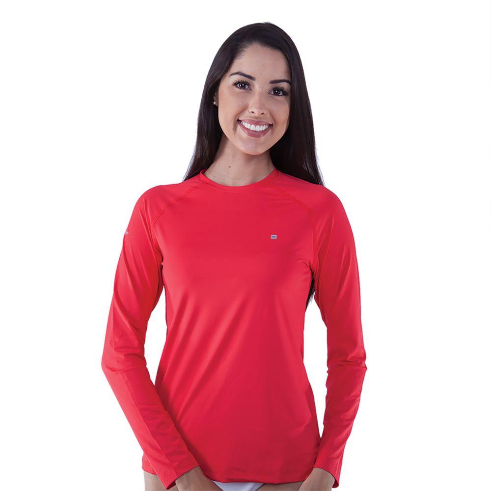 Camiseta Manga Longa Feminina Com Proteção UV 50+ - Rota do Mar 168b4ef0338e1