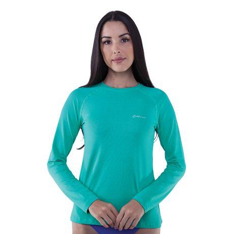 301634-Camiseta-manga-longa-feminina-com-protecao-UV-50-Dry-verde-frente