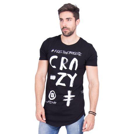 673a7630a Camiseta Longa Crazy - Rota do Mar