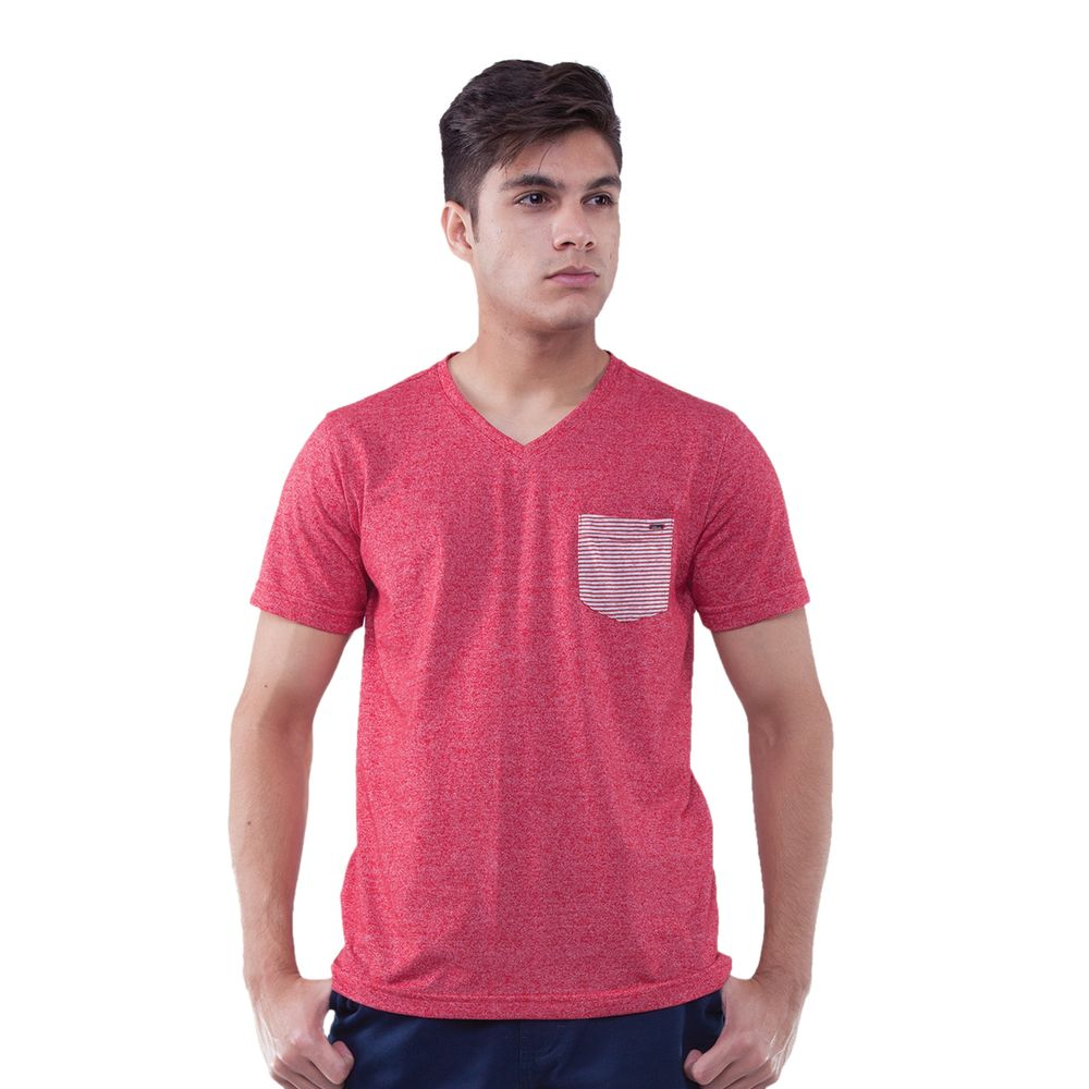 f11ed2b1f Camiseta Manga Curta Gola V com Bolso - Rota do Mar