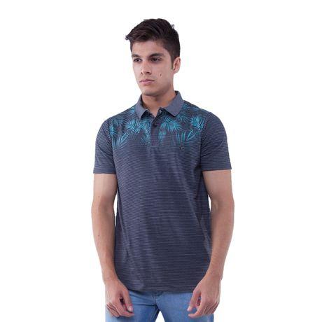 Camisa-Polo-Listra-Folhagens-