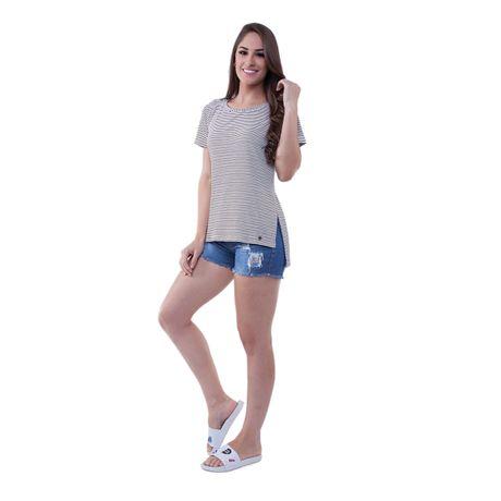 Camiseta-Listrada-Malha-Canelada