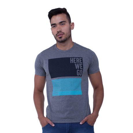 Camiseta-Manga-Curta-Estampa-Here-We-Go
