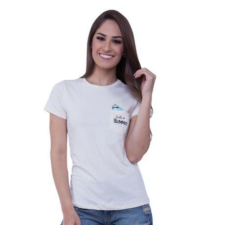 47512d256 Camiseta-Basica-Estampa-Hello-Summer