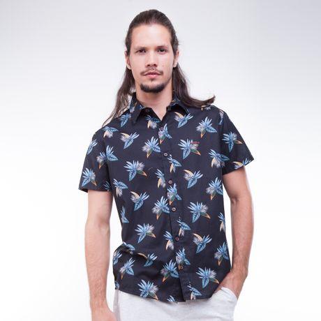 Camisa-Manga-Curta-Estampa-Floral
