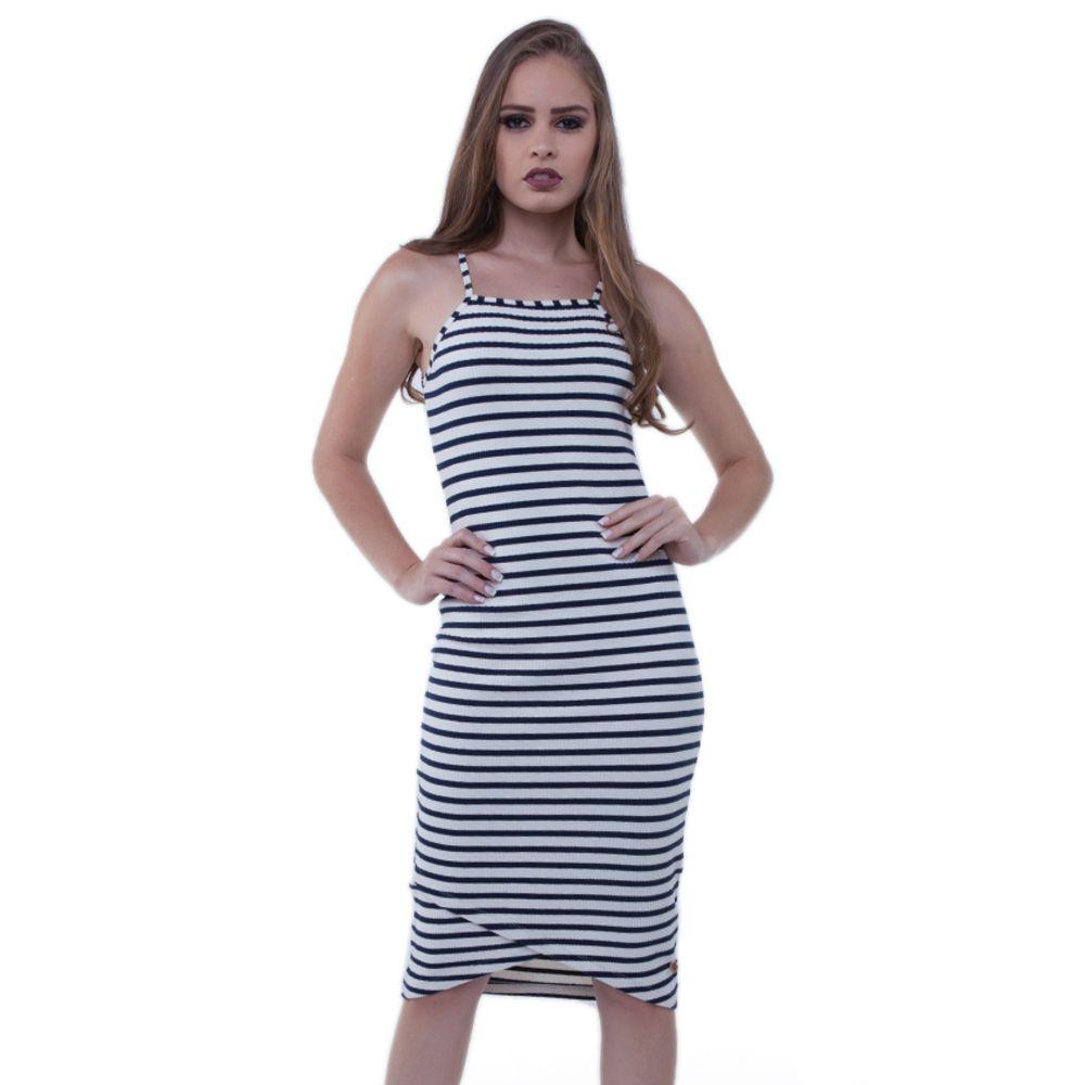 f39a35404 301872-vestido-malha-canelada-listrado-branco-frente1 ...