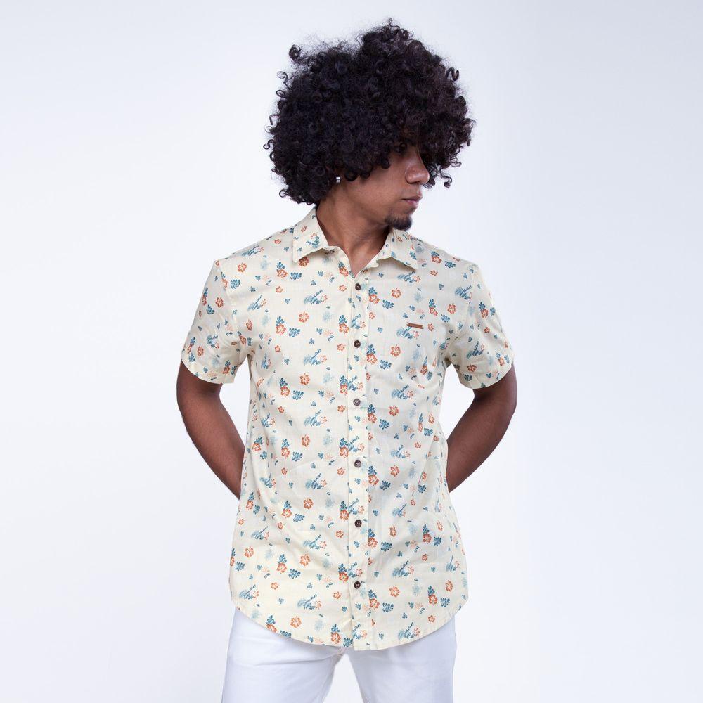 Camisa Manga Curta Ibisco - Rota do Mar 35e79f2a3af3e