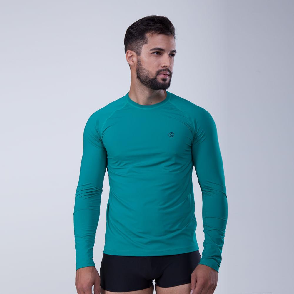 fa142b4ad Rota do Mar · Proteção Solar · Camiseta UV. 288009-Camiseta-Protecao-UV-Estampa-Logo-verde-  ...