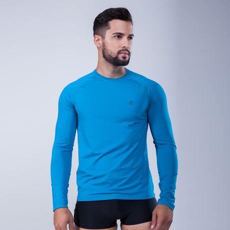 288009-Camiseta-Protecao-UV-Estampa-Logo-azul-frente
