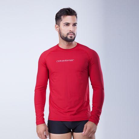 288011-Camiseta-Protecao-UV-50-Movidos-Pelo-Sol-vermelho-frente