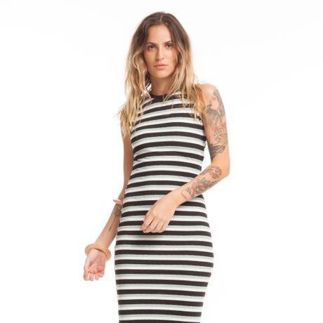 301816-Vestido-longo-canelado-preto-frente