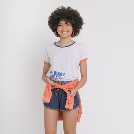 Camiseta Manga Curta Cores